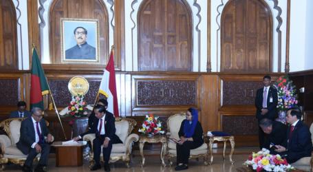 Jokowi Bahas Kerja Sama Ekonomi Dengan Presiden Bangladesh