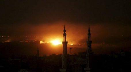 Pesawat Israel Kembali Bombardir Gaza