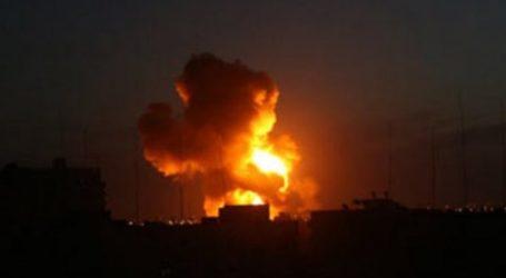 Pesawat Tempur Israel Serang Gaza di Dekat Perbatasan Mesir