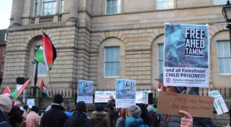 Aksi Solidaritas Pada Gadis Palestina At-Tamimi Digelar di New York