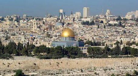 "Gerakan Yerusalem AS adalah ""Resmi Narasi Israel"""