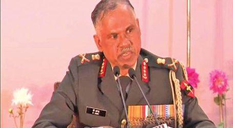 Panglima Angkatan Darat India Sorot Pemuda Kashmir Gabung Militan