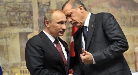 Erdogan Telepon Putin Saat Tercapai Kesepakatan Kurdi dan Pemerintah Suriah