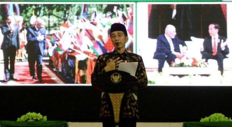 Presiden Jokowi Sebut Banyak Kontribusi Indonesia untuk Perdamaian Dunia