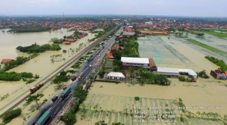 Kepala BNPB Tinjau Bencana Longsor dan Banjir Brebes
