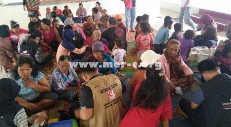 MER-C Kembali Kirim Relawan untuk Korban Erupsi Sinabung