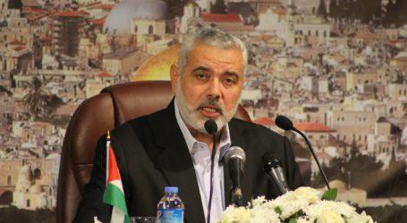 Ismail Haniyeh Bertemu Kepala Intelijen Mesir di Kairo