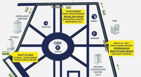 Rekayasa Lalu Lintas di Kawasan GBK Selama Asian Games 2018 Invitation Tournament