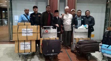 AWG Serahkan Bantuan Kemanusiaan untuk Pengungsi Suriah di Lebanon