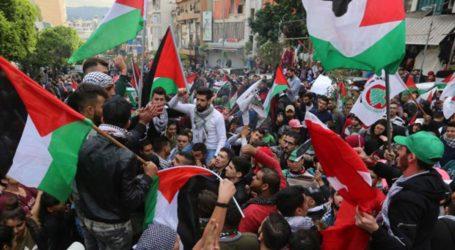 Sekolah di Tunisia Gelar Aksi Solidaritas untuk Palestina