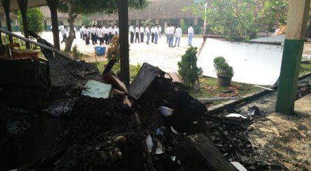 Kebakaran di Ponpes Al-Fatah Lampung, KBM Tetap Berjalan.