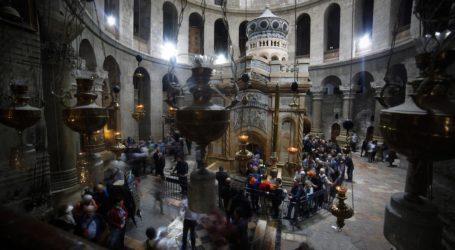 Protes Peraturan Israel, Para Pemimpin Gereja di Yerusalem Tutup Gereja