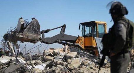 Israel Hancurkan Rumah Warga Palestina di Nablus