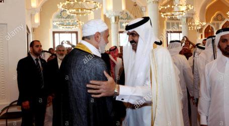 Emir Qatar Bantu Masyarakat Gaza Rp. 122 M