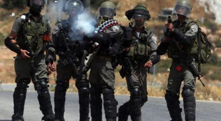 Tentara Israel Serang Pemrotes dengan Putaran Baja di Qalqilia