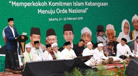 Jokowi Garisbawahi Sinergi Umara dan Ulama Bangun Bangsa