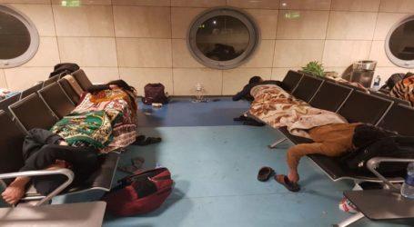 Ratusan Warga Palestina Sudah Sepekan Terdampar di Bandara El-Arish dan Kairo