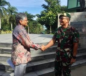 Pasukan TNI-AD Indonesia dan India Latihan Gabungan di Bandung