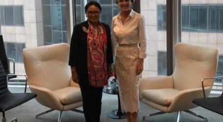 Menlu RI dan Australia Bahas Isu Rohingya di Sydney
