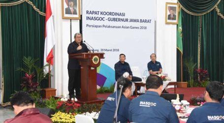 INASGOC Perkuat Koordinasi Pelaksanaan Asian Games 2018 di Jawa Barat