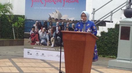 Ibu Anies Baswedan Buka Pameran Busana Muslim Australia