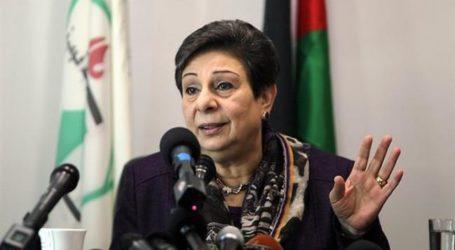 Ashrawi: Palestina Tetap Berkomitmen Non Kekerasan