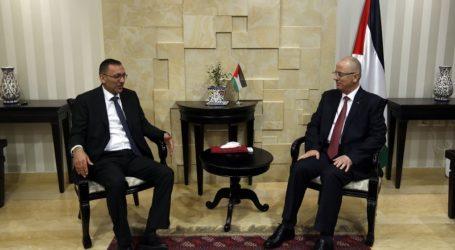 PM Hamdallah dan Perwakilan OKI Bahas Peningkatan Dukungan bagi Palestina
