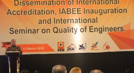 Dirikan IABEE, Prioritas Utama Kemenristekdikti Tingkatkan Mutu Pendidikan Teknik