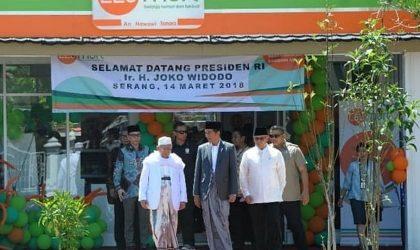 Presiden Jokowi Resmikan LEU Mart Pertama