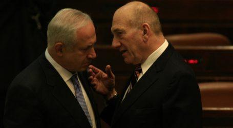 Ehud Olmert: Netanyahu Harus Mengundurkan Diri dengan Elegan