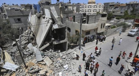 Jet Israel Serang Pos Hamas Usai Bom Meledak di Perbatasan Gaza