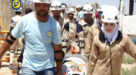 Media: Ratusan Relawan White Helmet Suriah Dievakuasi oleh Israel ke Yordania