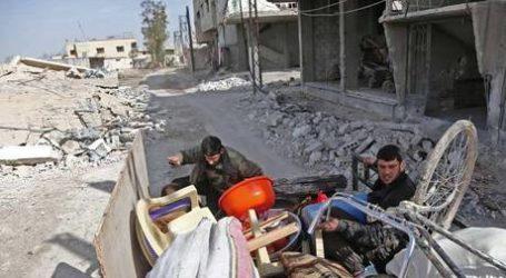 Tentara Suriah Potong Ghouta Timur Jadi Tiga Bagian