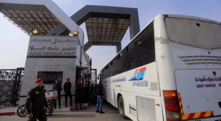 Penyeberangan Perbatasan Gaza Dibuka Ahad