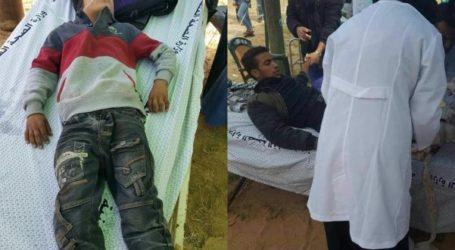 """Puluhan Peserta """"Aksi Akbar Kembali"""" di Jalur Gaza Terluka"""