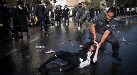Yahudi Ortodoks Demo Tolak Wajib Militer