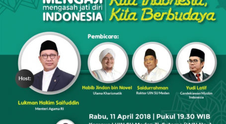 Kemenag Gelar Mengaji Indonesia di UIN Sumut