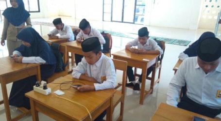 USBN Madrasah di Kab. Wajo Gunakan Android