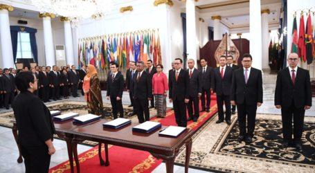 Menlu Retno Lantik Jabatan 16 Pimpinan Tinggi Pratama