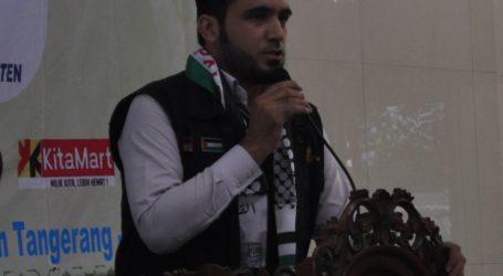 Dai Gaza Harapkan Aksi Nyata Masyarakat Indonesia untuk Palestina