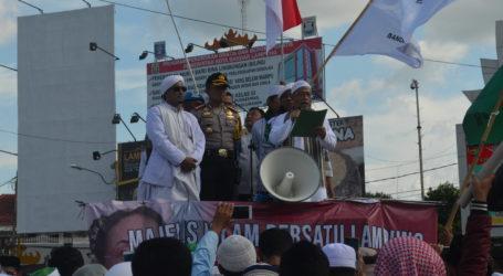Majelis Lampung Bersatu Adakan Aksi Kecam Puisi Sukmawati