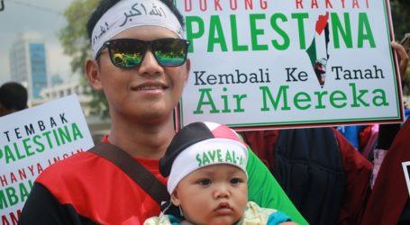 Balita Andil Dalam Aksi Dukung Great Return Macrh Palestina