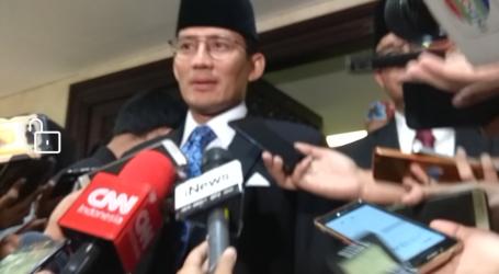 Jokowi Tunjuk Sandiaga Uno Jadi Menteri Pariwisata dan Ekonomi Kreatif