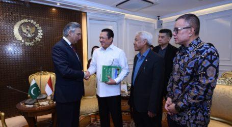 DPR Dorong Peningkatan Kerja Sama Indonesia-Pakistan
