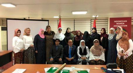 KBRI Beirut, AWG Gelar Pelatihan Menjahit Bagi Pengungsi Suriah dan Palestina