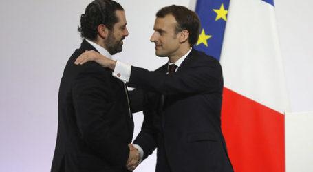 Presiden Perancis Undang Hariri Makan Malam Bersama Putra Mahkota Saudi