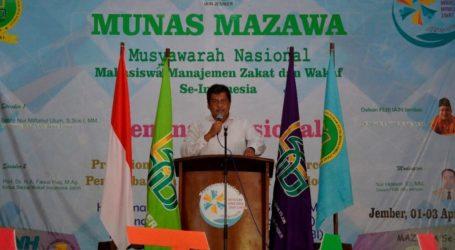 IAIN Jember Jadi Tuan Rumah Munas Mahasiswa Manajemen Zakat dan Wakaf se-Indonesia