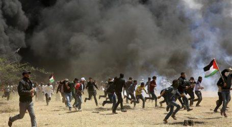 Satu Pemuda Palestina Gugur, Lebih 100 Luka oleh Pasukan Israel