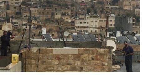 Pemukim Yahudi Bakar Pintu Masuk Masjid Al-Sheikh Saada