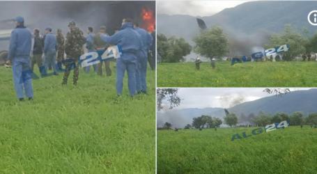 Pesawat Militer Jatuh Dekat Pangkalan Udara Boufarik Aljazair, 257 Tewas